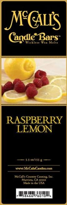 Raspberry Lemon McCall's Candle Bar