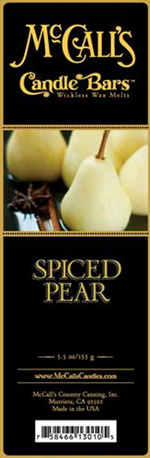 Spiced Pear McCall's Candle Bar