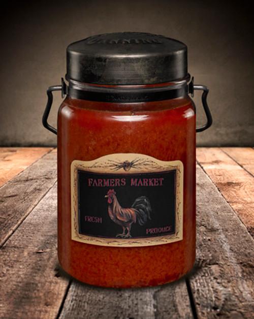 Farmer's Market 26 oz. McCall's Classic Jar Candle