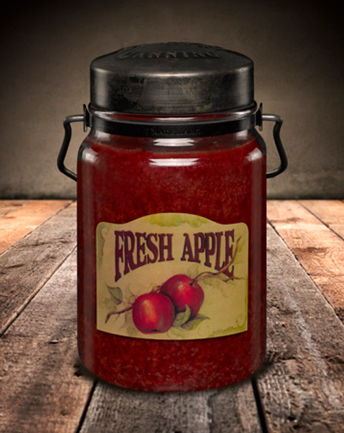 Fresh Apple 26 oz. McCall's Classic Jar Candle