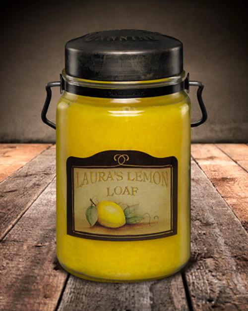 Laura's Lemon Loaf 26 oz. McCall's Classic Jar Candle