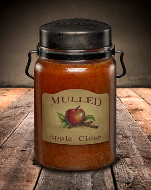 Mulled Apple Cider 26 oz. McCall's Classic Jar Candle