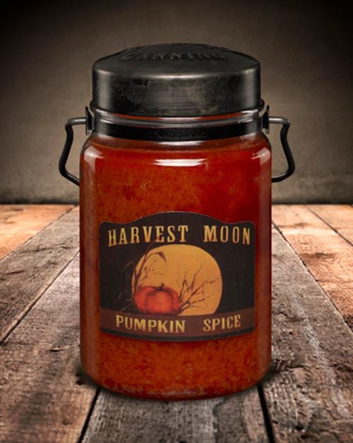 Pumpkin Spice 26 oz. McCall's Classic Jar Candle