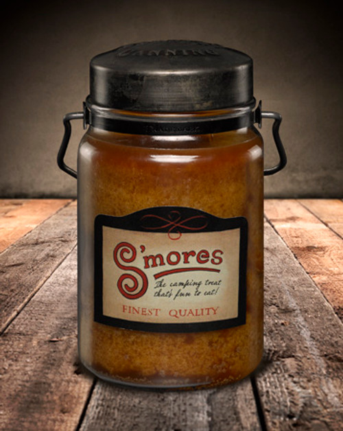 S'mores 26 oz. McCall's Classic Jar Candle