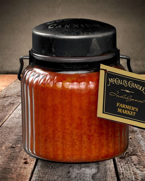 Farmers Market 18 oz. McCall's Indulgence Jar Candle
