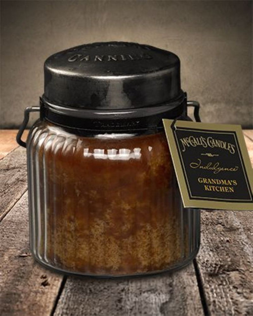 Grandma's Kitchen 18 oz. McCall's Indulgence Jar Candle