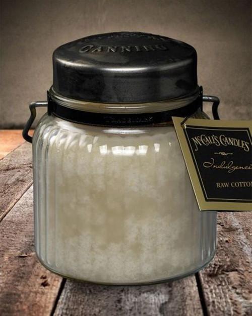 Raw Cotton 18 oz. McCall's Indulgence Jar Candle