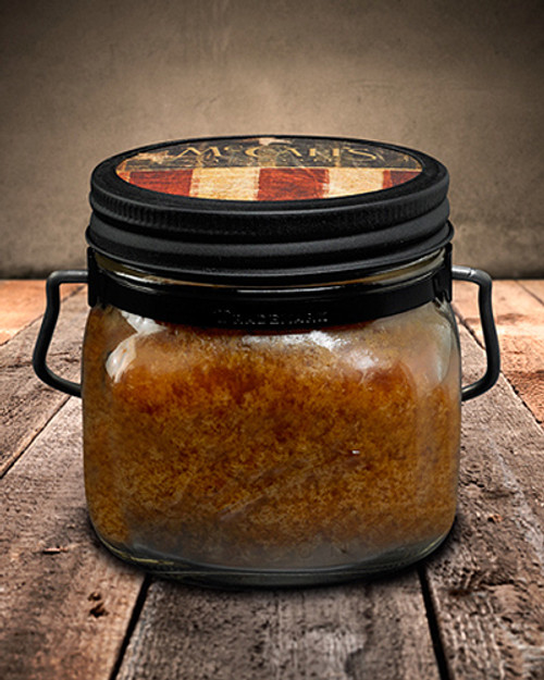Cozy Cabin 16 oz. McCall's Double Wick Mason Jar Candle