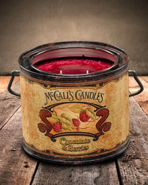 Chocolate & Berries 22 oz. McCall's Vintage Candle
