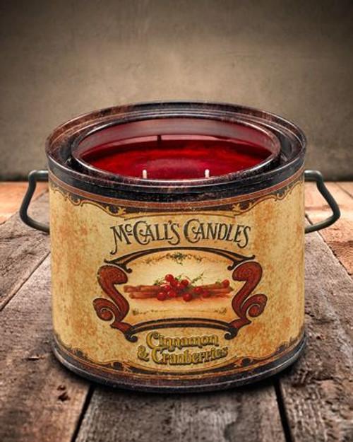 Cinnamon & Cranberries 22 oz. McCall's Vintage Candle