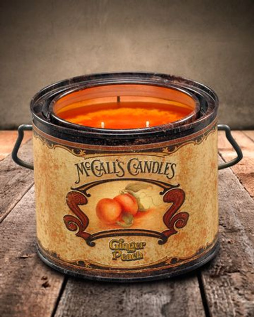 Ginger Peach 22 oz. McCall's Vintage Candle