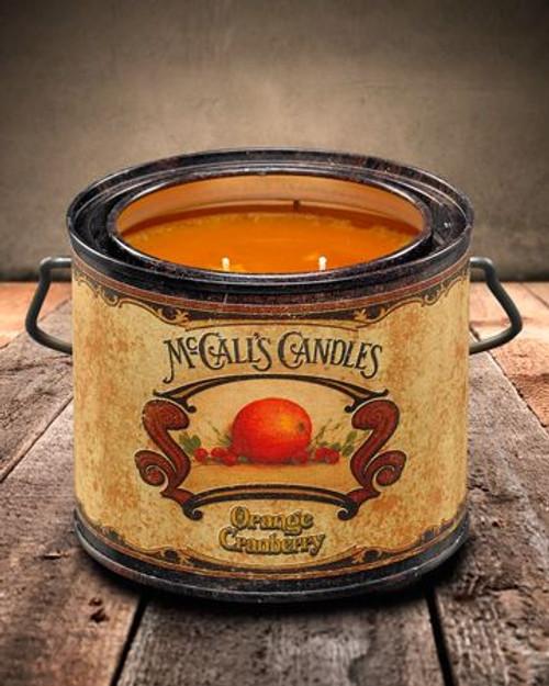 Orange Cranberry 22 oz. McCall's Vintage Candle