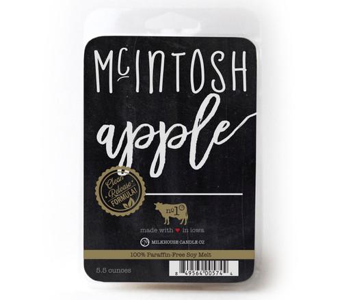 McIntosh Apple Farmhouse Fragrance Melt by Milkhouse Candle Creamery