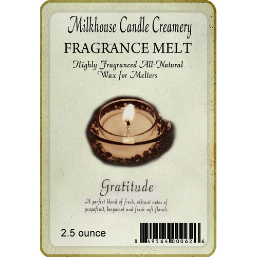 Gratitude Fragrance Melt by Milkhouse Candle Creamery