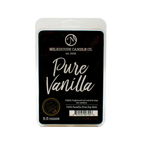 Pure Vanilla 5.5 oz. Fragrance Melt by Milkhouse Candle Creamery