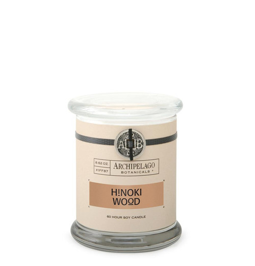 Hinoki Wood 8.6 oz. Glass Jar Candle by Archipelago