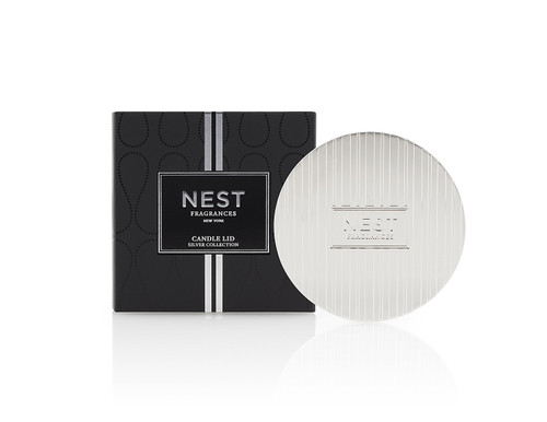 Silver Classic Candle Lid by NEST
