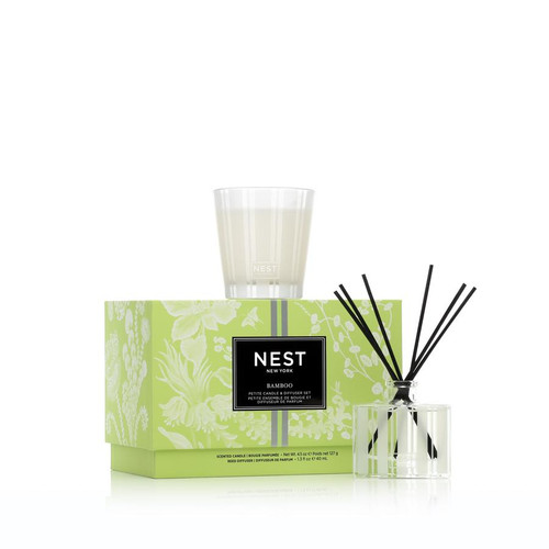 Bamboo Petite Candle & Diffuser by NEST