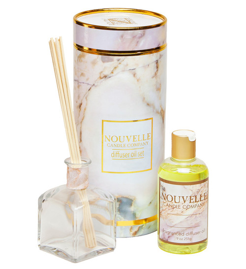 Tuscan Currant Reed Diffuser Boxed Set Nouvelle Candle