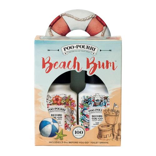 2 oz. Beach Bum Gift Set Poo-Pourri Bathroom Spray
