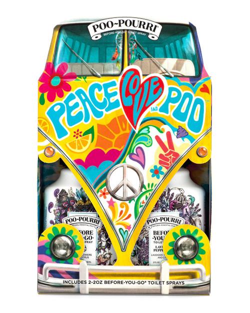 2 oz. Hippie Gift Set Poo-Pourri Bathroom Spray