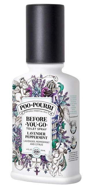 4 oz. Lavender Peppermint Poo-Pourri Bathroom Spray