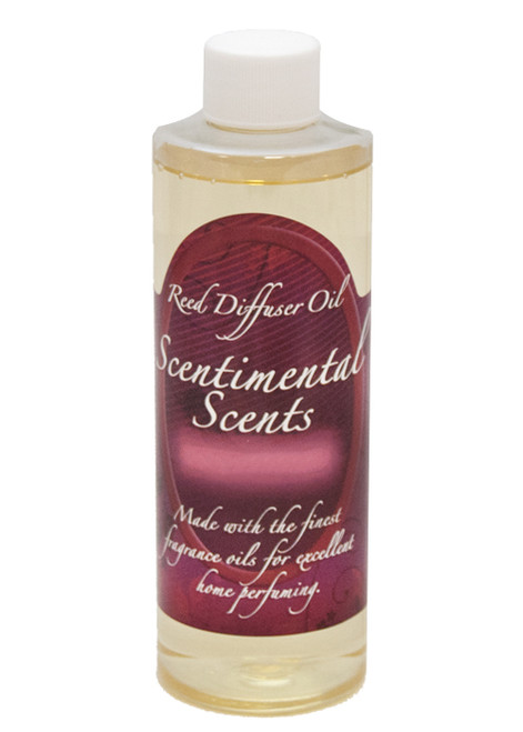 8 oz. Creme Brulee Reed Diffuser Oil by Scentimental Scents