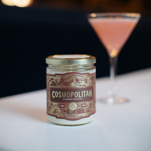 Cosmopolitan Cocktail 12 oz. Rewined Candle