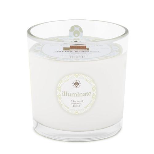 Illuminate (Juniper Rosewood) 12 oz. Seeking Balance Spa Candle by Root