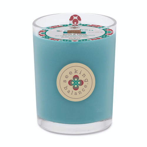 Awaken (Basil & Lime) 15 oz. Large Spa Candle by Root