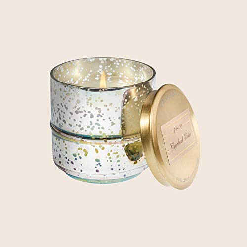 Gingerbread Brulee 6 oz. Metallic Candle by Aromatique