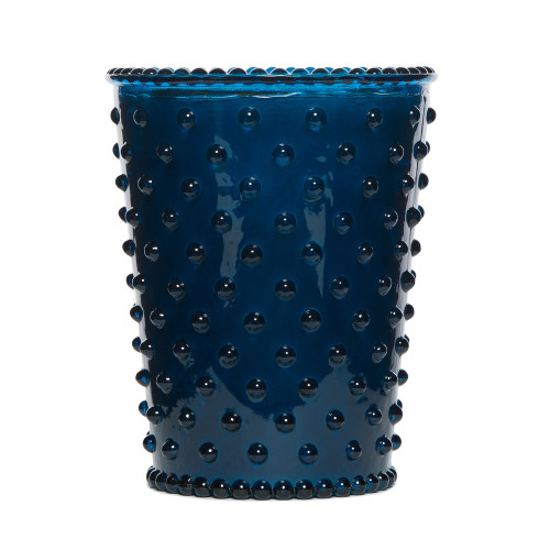 Simpatico Ambergris Hobnail Glass Candles by K. Hall Studio
