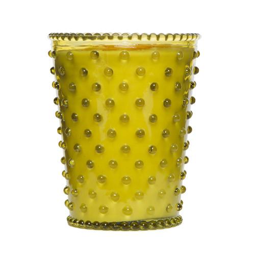 Simpatico Fir & Grapefruit Hobnail Glass Candles by K. Hall Studio