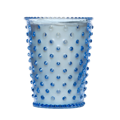 Simpatico Lavender Hobnail Glass Candles by K. Hall Studio