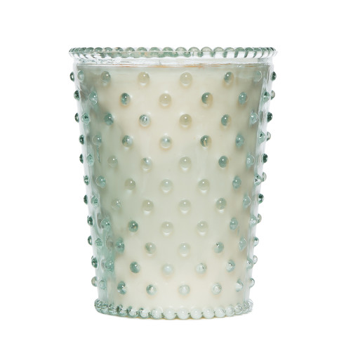 Simpatico Scotch Pine Hobnail Glass Candles by K. Hall Studio