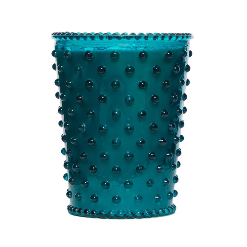 Simpatico Spanish Lime Hobnail Glass Candles by K. Hall Studio