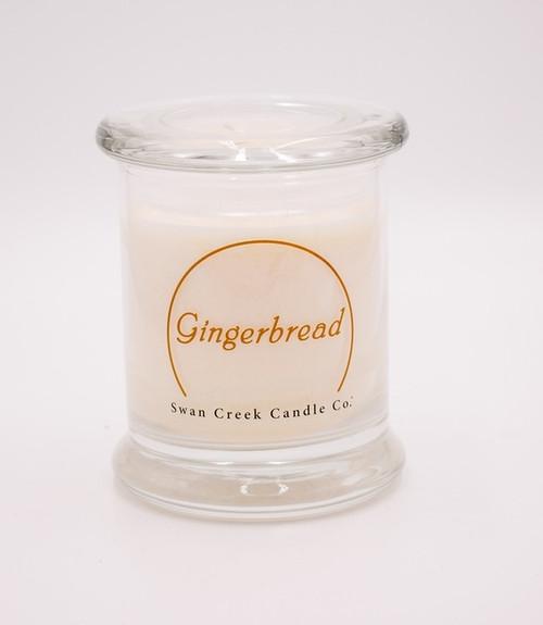 Gingerbread Clean & Contemporary 9 oz. Jar Swan Creek Candle