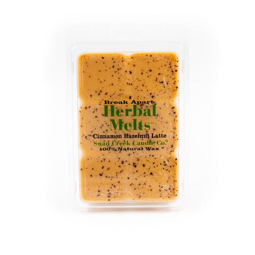 Cinnamon Hazelnut Latte 5.25 oz. Swan Creek Candle Drizzle Melts