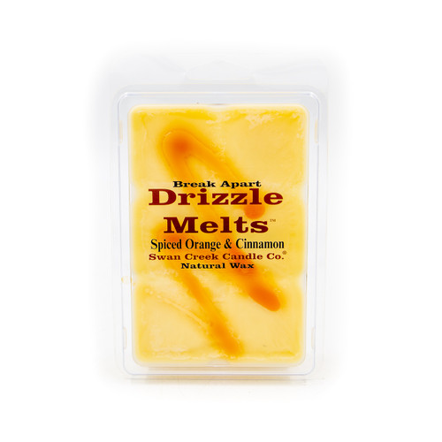 Spiced Orange & Cinnamon 5.25 oz. Swan Creek Candle Drizzle Melts