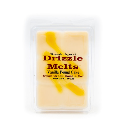 Vanilla Pound Cake 5.25 oz. Swan Creek Candle Drizzle Melts