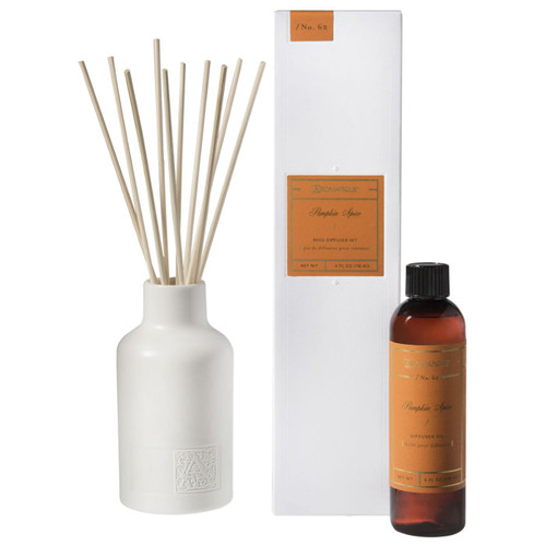 Pumpkin Spice 4 oz. Reed Diffuser Set by Aromatique