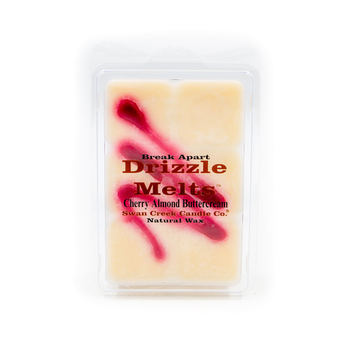 Cherry Almond Buttercream 5.25 oz. Swan Creek Candle Drizzle Melts