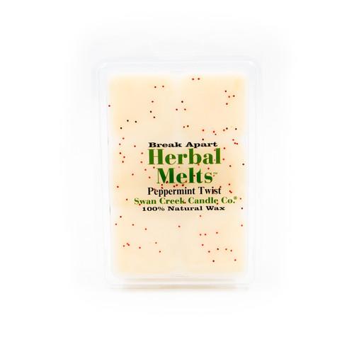 Peppermint Twist 5.25 oz. Swan Creek Candle Drizzle Melts