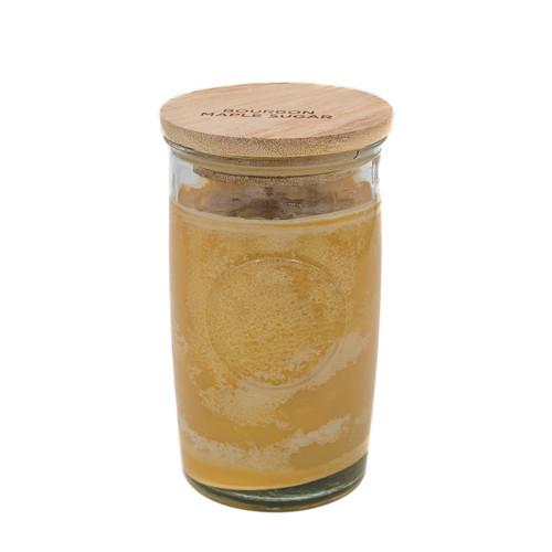 Bourbon Maple Sugar 12 oz. Tall Logo Glass Jar by Swan Creek Candle