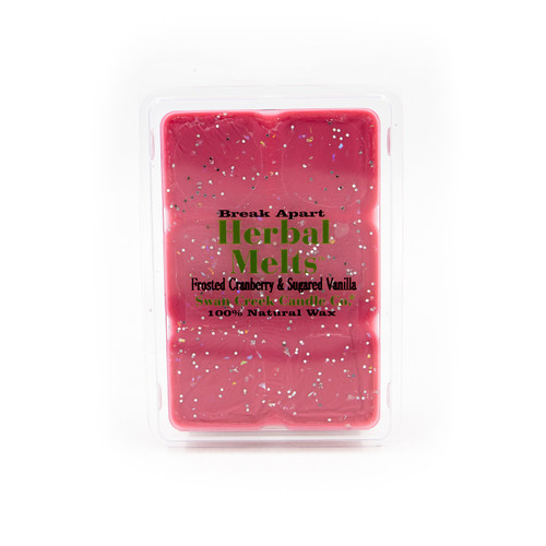 Frosted Cranberry & Sugared Vanilla 5.25 oz. Swan Creek Candle Drizzle Melts