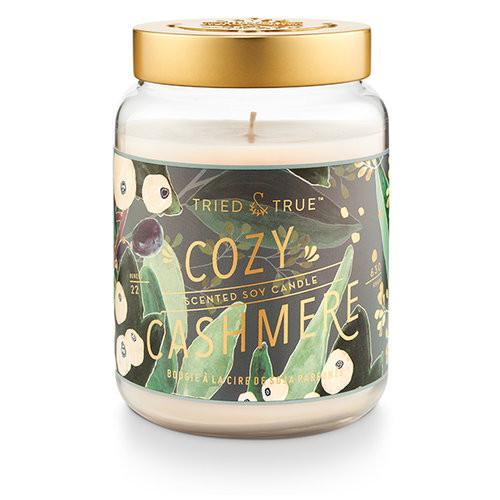 Cozy Cashmere 22.2 oz. XL Jar Candle by Tried & True