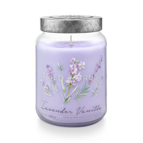 Lavender Vanilla 22.2 oz. XL Jar Candle by Tried & True