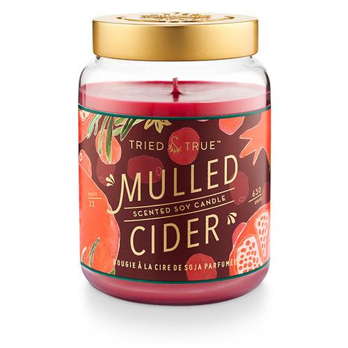 Mulled Cider 22.2 oz. XL Jar Candle by Tried & True