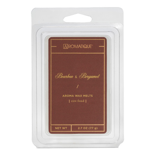 Bourbon & Bergamot 2.7 oz. Aroma Wax Melts by Aromatique