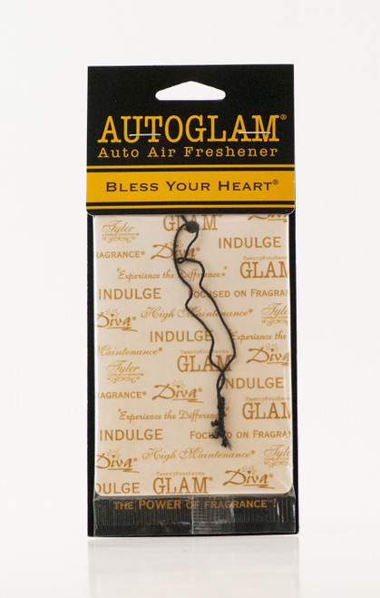 Bless Your Heart Autoglam Gold on White by Tyler Candle Company
